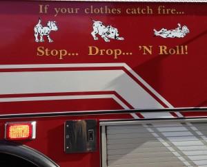 fire truck dogs